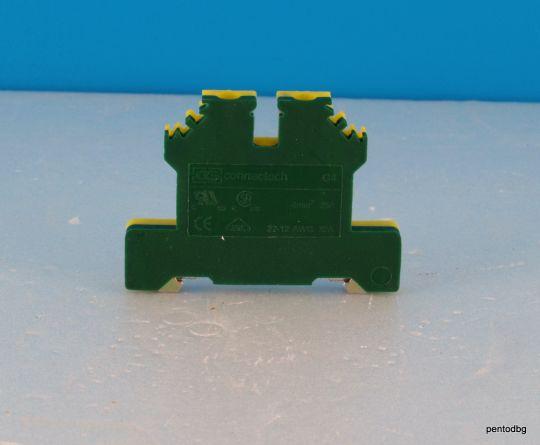 Редова клема заземителна 4 мм2 G 4