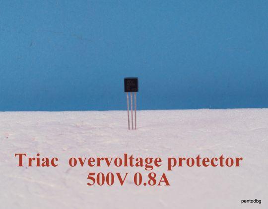 Tриак  ACS108 5S  защита от пренапрежение  0,8A 500V IGT -10mA   ST